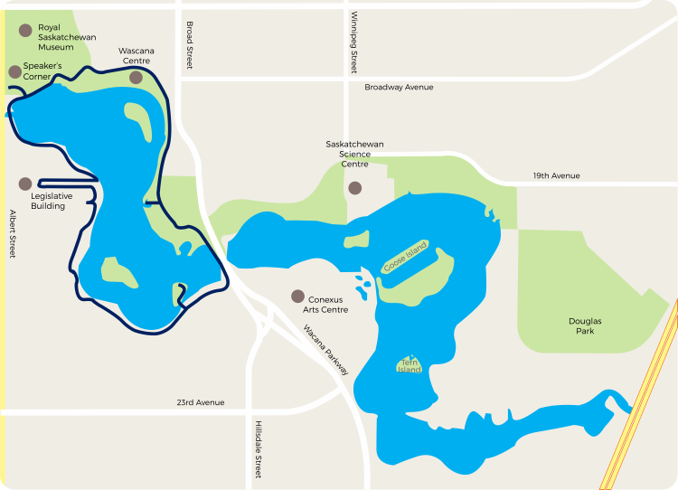 Wascana | Advanced Route